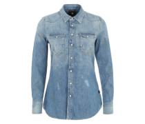 Jeansbluse 'tacoma' blue denim
