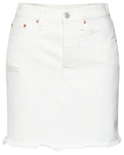 Jeansrock 'HR Decon Iconic BF Skirt' weiß