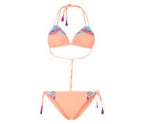 Triangel-Bikini 'Memori' mischfarben / orange