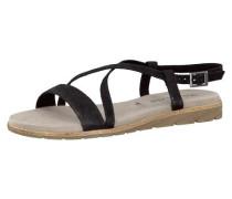 Sandaletten 'Sidra' schwarz