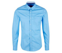 Button-Down-Hemd hellblau