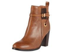 Hohe Ankle Boots 'Stacey' braun