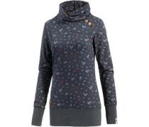 'Nest Birds' Organic Sweatshirt navy / hellgrau / pastellrot