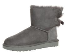 Boots mit Fell-Fütterung 'Mini Bailey Bow II' grau