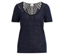 Feminines T-Shirt blau / navy