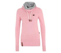 Strickpullover 'Geh Weg VI' pink