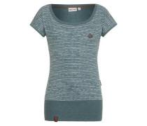 Jerseyshirt 'Wolle Dizzy VI' grün