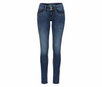 Stretch-Jeans 'Alexa skinny' blue denim