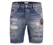 Jeansshorts 'rick Short JOS 213' blue denim