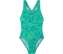 Badeanzug Mädchen blau / mint