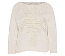 Pullover 'w/print' weiß