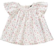 'Baby Top mit Flügelärmeln Organic Cotton' für Mädchen weiß