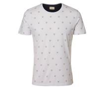T-Shirt Rundausschnitt weiß