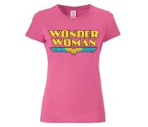 T-Shirt - Wonder Woman - Logo pink