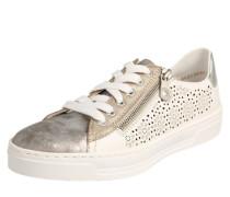 Sneaker silbergrau / weiß
