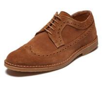 Schuhe Wildleder braun