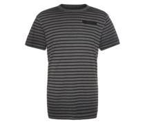 Shirt 'Rancis stripe r t s/s' grau