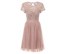 Kurzes Kleid rosa