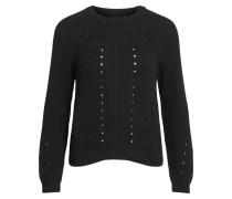 Pullover 'objmaya' schwarz