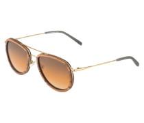 Sonnenbrille 'Ferdinand' braun / orange