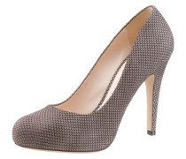 High-Heel-Pumps grau