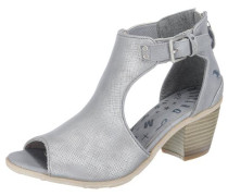 Sandaletten grau / silbergrau