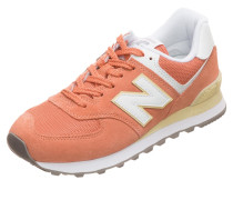 Sneaker 'wl574-B' koralle / weiß