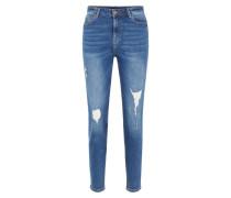 Mom Jeans blue denim