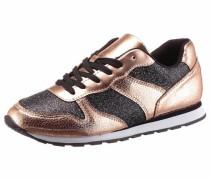 Sneaker rosegold / schwarz
