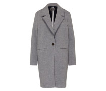 Wollmantel 'coat' grau
