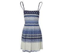 2-in-1-Kleid blau