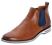 Chelsea Boot Dillon braun / cognac / blau