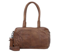 'Freebie' Handtasche Leder 31 cm braun