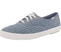 'Champion Foil Ticking Dot' Sneakers rauchblau