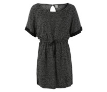 Shirtkleid 'Drizzle' schwarz