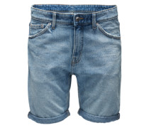 Jeansshorts in Slim Fit 'Sonic' hellblau