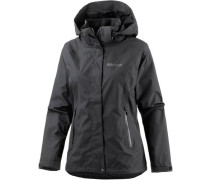 'Alpenstock' Outdoorjacke schwarz