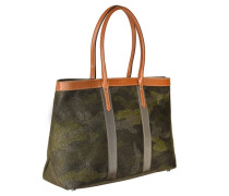 Shopper Tasche 43 cm grün