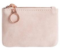 PIECES Portemonnaie Wildleder pink