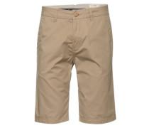 Shorts 'solid twill chino bermuda' beige