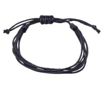 Strang-Armband schwarz