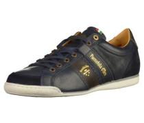 Sneaker dunkelblau / dunkelbraun / gold / weiß