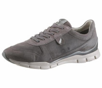 Sneaker grau / silber / weiß