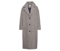 Mantel 'ovsz Wool Coat - Plaid' sand / schwarz