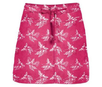 Rock 'pomona Tropical Skort' dunkelpink / weiß