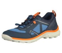 Sneaker 'biom Trail' blau / neonorange