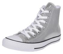 Sneaker high 'Chuck Taylor All Star-Hi' silber / weiß