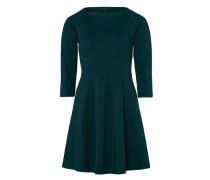 Kleid mit U-Boot Ausschnitt smaragd