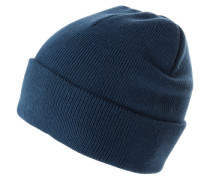 Mütze 'solid RIB Hat' blau