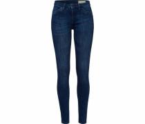 Skinny-fit-Jeans dunkelblau